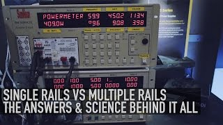 Single Rails VS Multiple Rails Power Supplies - With Jonny Guru | Corsair PSUs