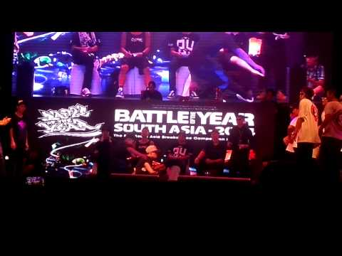 BOTY SOUTH ASIA 2014 - SEMI FINAL - Metro Grooverz vs Big Toe
