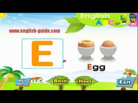 ABC  تعليم الاطفال الانجليزية - تعليم الحروف