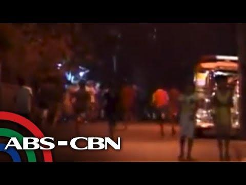 Teens riot in Caloocan