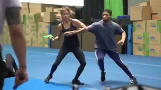 "Halle Berry Training for ""John Wick 3 Parabellum"""