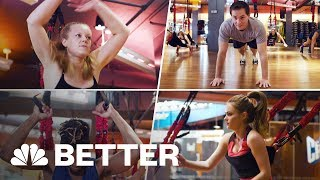 This Unusual, Adrenaline-Fueled Workout Kicked Our Butts | Better | NBC News