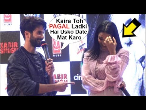 Download Lagu  Shahid Kapoor Makes FUN Of Kaira Advani At Kabir Singh Mere Sohneya Song Launch Mp3 Free