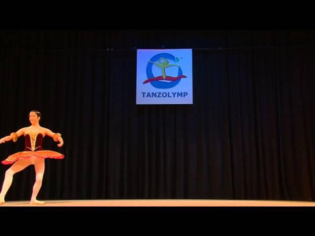 La Sylphide ballet school - Maria Bodea - Silver medalist Tanzolymp 2014 - Gamzatti variation