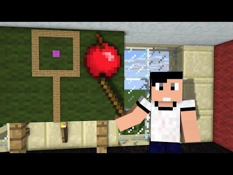 การ์ตูนมายคราฟ - ตอน สอบโยนแอปเปิ้ล