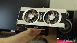XFX R7870 Black Edition Overclocked Double Dissipation 2GB Video Card Unboxing