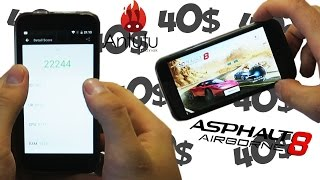 ЛУЧШИЙ СМАРТФОН ЗА 40$,  ALIEXPRESS, (Android 6.0, ОЗУ 1Гб, 4 Ядра..) Blackview A5