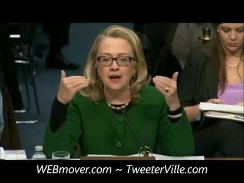 Hillary Clinton testifies before Senate on 1-23-2013 regarding Benghazi, Libya Terror Attack