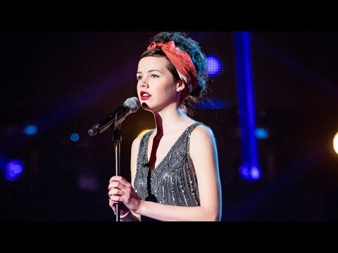 Sophie May Williams performs  Time After Time  - The Voice UK 2014: Blind Auditions 2 - BBC One