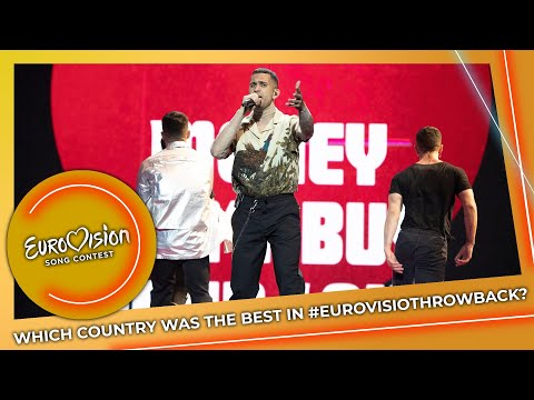 Which Country Was the Best in #EurovisionThrowback?