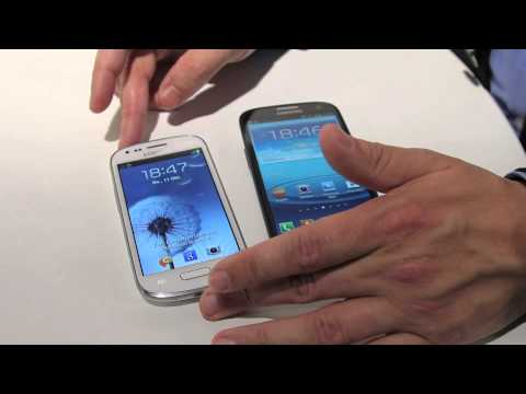Samsung Galaxy S3 Mini (GT-I8190) Smartphone Hands-On