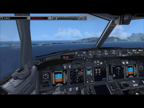 Flight Simulator X: Arrival/Landing in Madeira [PMDG 737]