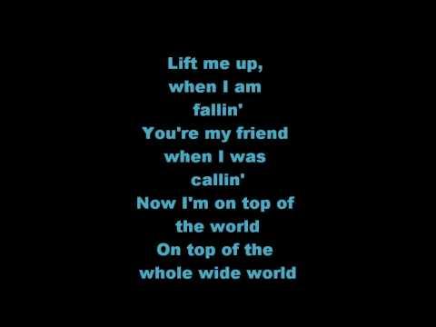 On Top of the World Lyrics Mandy Moore