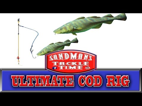 Sandmans Tackle Time Ultimate Cod Rig For Shore Fishing