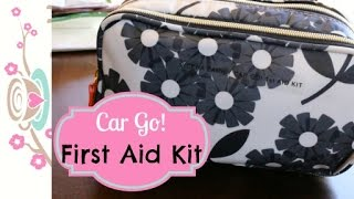 Travel Made Easy  A DIY 1st Aid Kit In My Car Orla Kiely {how To Organize}