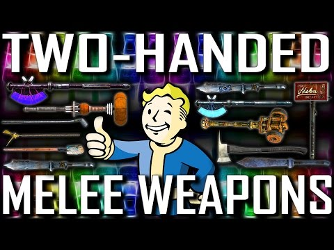 Two-Handed Melee - Rare & Unique - Fallout New Vegas (Includes DLCs)