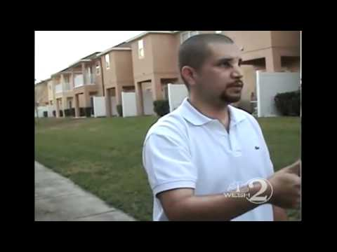 Raw Video: George Zimmerman reenacts incident for Sanford Police