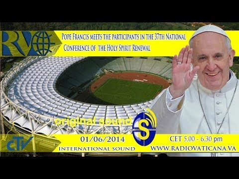 Pope Francis meets the Moviment of the Holy Spirit Renewal