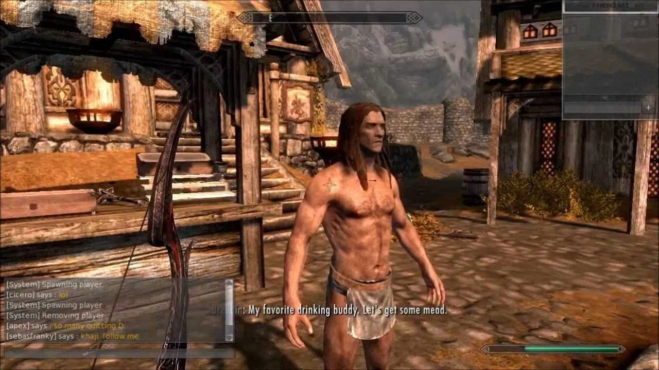 Skyrim Online Multiplayer Mod w/ Commentary - YouTube