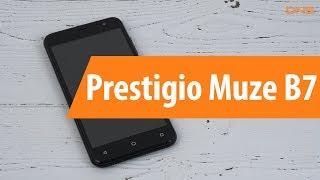 Распаковка Prestigio Muze B7 / Unboxing Prestigio Muze B7