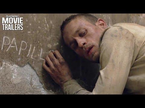 PAPILLON Trailer NEW (2018) - Charlie Hunnam, Rami Malek Remake