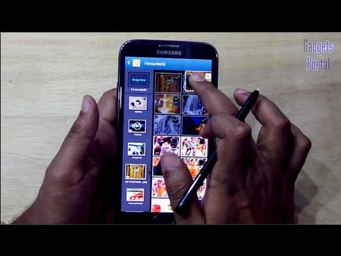 Samsung GALAXY NOTE 2 II TIPS and TRICKS. HELPS : Part 2. Review by GADGETS PORTAL
