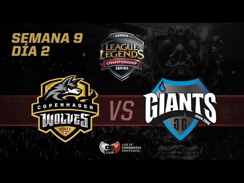 Giants vs Copenhagen Wolves - LCS EU - Semana 9 Dia 2
