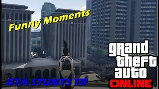 AWESOME GTA 5 STUNT (Funny Moments)