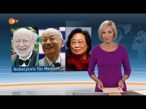 Medizin-Nobelpreis Für Parasitenforscher - Therapien Gegen Malaria Und Flussblindheit - ZDF Heute