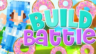 Minecraft: Build Battle -  Cute Coffee & Donuts!