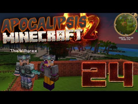 PROBLEMAS EN EL NETHER   #APOCALIPSISMINECRAFT2   EPISODIO 24   WILLYREX Y VEGETTA