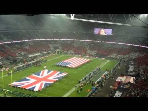Jacksonville Jaguars vs Dallas Cowboys National Anthem
