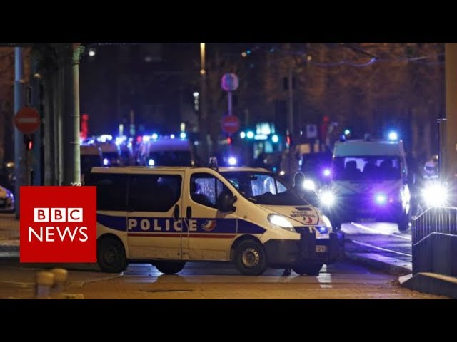 Strasbourg: Christmas market attacker 'shot dead' - BBC News