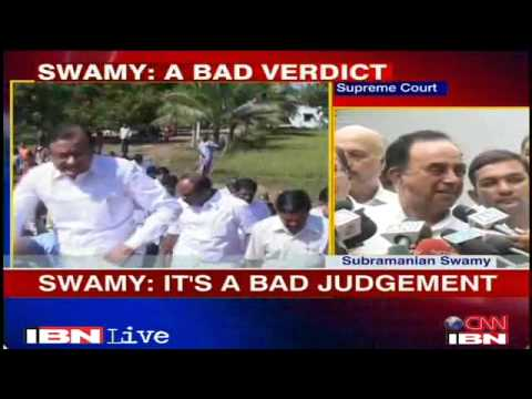The War Against Corruption will continue: Dr Subramanian Swamy