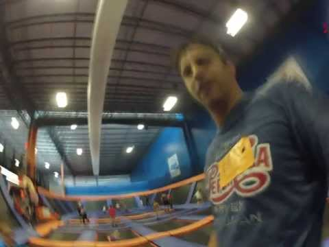 SkyZone Trampoline Park in Leetsdale Pennsylvania Time Lapse video 2013 MAY