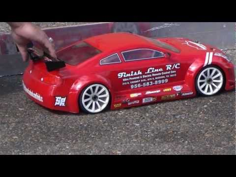 Car Fest 2013 and FINISHLINE RC pure Drag Racing Clips!