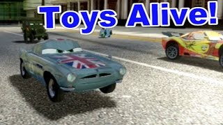 Cars 2: The video Game - Finn Union Jack - Hyde Tour Race