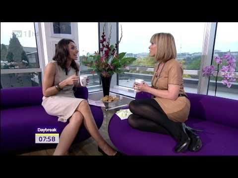 Kate Garraway - Christine Bleakley - Stunning Stocking Heels - 28-Sep-10