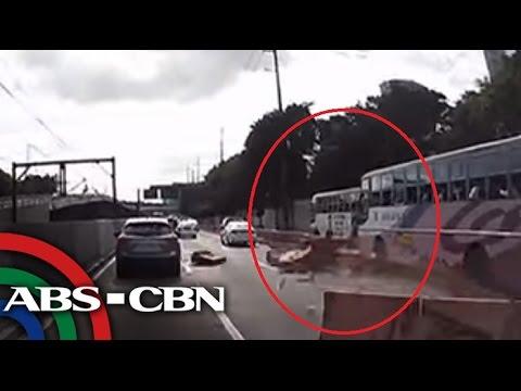 TV Patrol: Bus driver na umararo ng barriers sa EDSA, sususpendihin