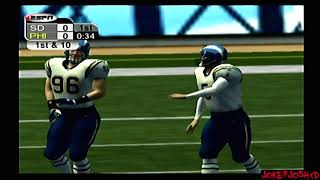 ESPN NFL 2K5 Demo Game | SD @ PHI | Pretty Good Game!!