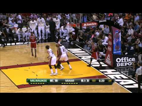 LeBron James' Top 10 Plays of 2012-2013 Regular Season