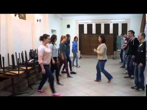 Kurs Tańca W ODiDZ Szczucin  - 2014