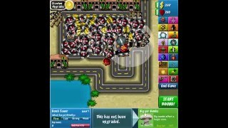 bloons tower defense 4 easy mode game over at level 83