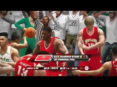 NCAA Basketball 10 For The 2016 Season Maryland Terrapins vs Michigan State Spartans
