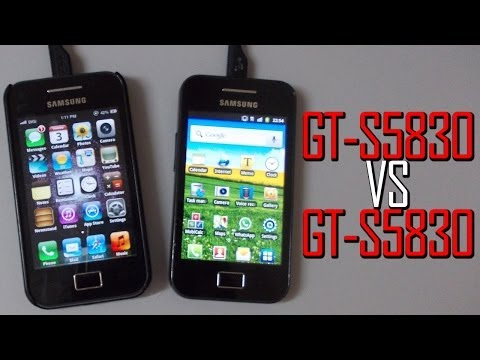 iOS6 VS Stock 2.3.6 GingerBread on GT-S5830