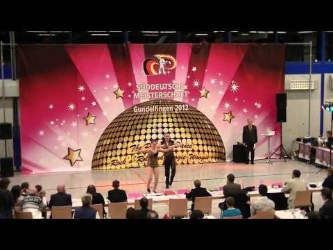 Regina Reiswich & Andreas Meier - Süddeutsche Meisterschaft 2012