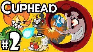 "CUPHEAD + Mugman - 2 Player Co-Op! - Gameplay Walkthrough PART 2: ""You Boys Wanna Kill The Devil?"""