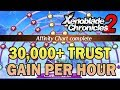 THE BEST Trust Gaining Strategy For Affinity Charts (30,000 Trust/Hr)   Xenoblade Chronicles 2