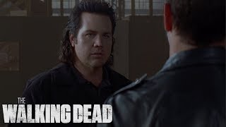 Eugene Betrays Negan | Walking Dead Classic Scene