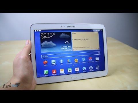 Review: Samsung Galaxy Tab 3 10.1 im Test   tabtech.de